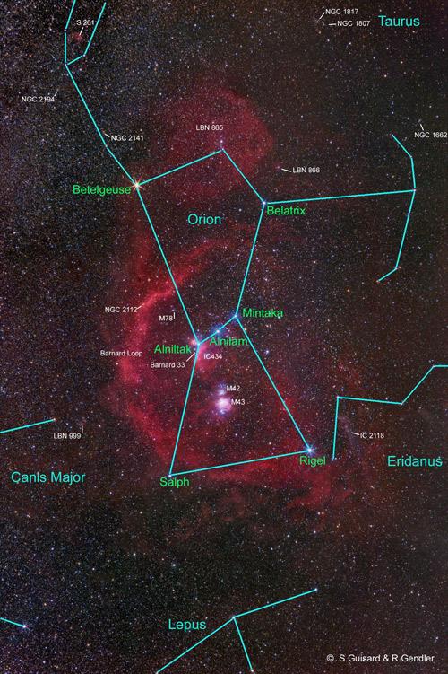 En Chasse D Orion